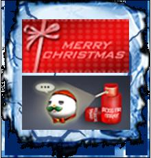 红色圣诞名片(30天)/圣诞雪人喷图(30天)